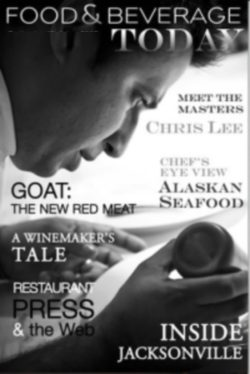food and beverage magazine, september-october 2009, chris lee