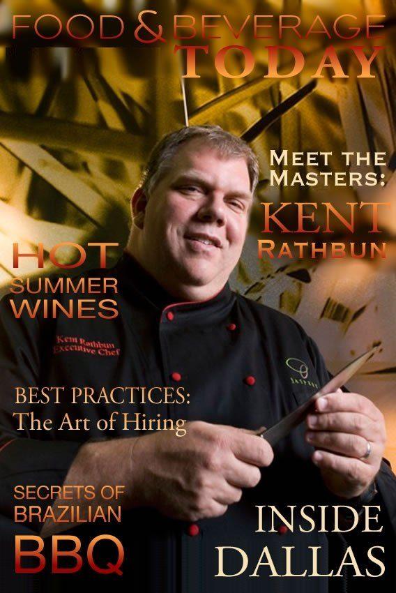 Food and Beverage Today, Kent Rathbun, restaurant business