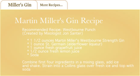 martin miller's gin, westbourne punch recipe from jon santer