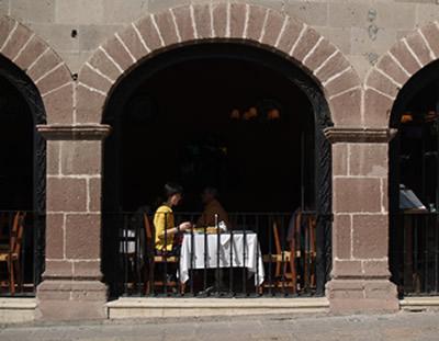 restaurant posada san fran, san miguel de allende