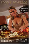Food and Beverage Magazine February 2009 with Cat Cora