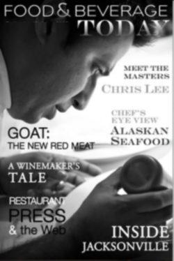 food and beverage magazine, september-october 2009, chris lee