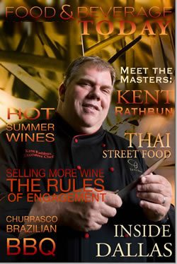 food and beverage magazine, july-august 2009, kent rathbun
