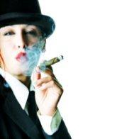 Cigar Girl, cigar, girl with cigar