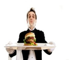 waiter, server, waiter with tray