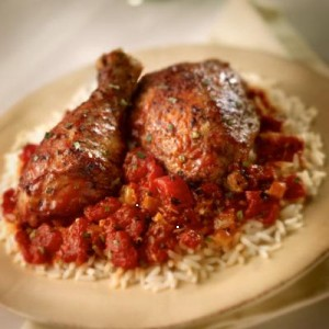 Koto Kapama, Greek Cinnamon Stewed Chicken, Cat Cora recipe, Chef Cora, Cat Cora