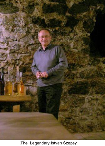 dry wines of Tokaji, Istvan Szepsy, Furmint Grapes, Tojaki