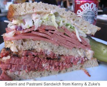 Kenny & Zukes, sandwich, portland restaurants