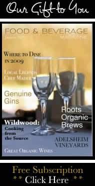 food and beverage magazine, f&b. food and bev mag
