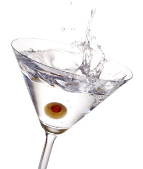 Martini glass, martini, glass, drink