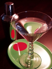 food and beverage martini