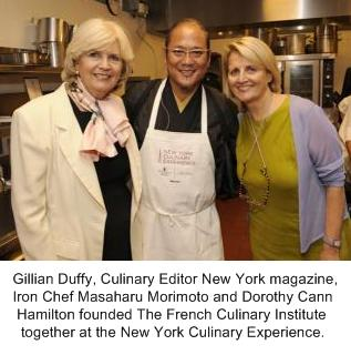 Masaharu Morimoto, Iron Chef, New York Culinary Experience