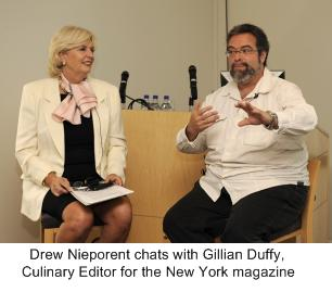 Gillian Duffy , Drew Nieporent, Culinary Experience