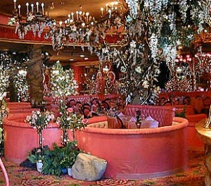 restaurant, christmas, dining room