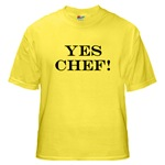 waiter products, yes chef, waiter apparel