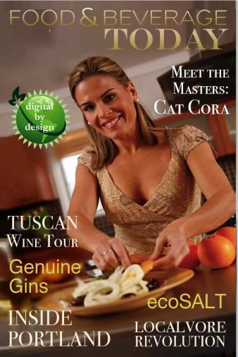 Chef Cat Cora in Food and Beverage Today Magazine