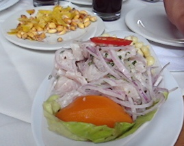 Traditional Ceviche at Punta Arenas, Chorillos