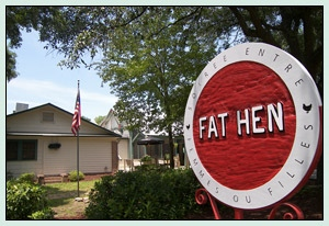 chef Fred Neuville, fat hen, wild olive
