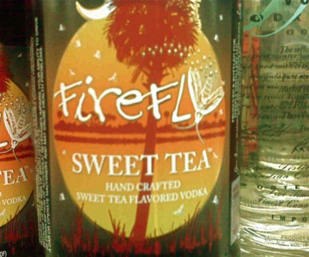 firefly vodka, sweet tea vodka, vodka