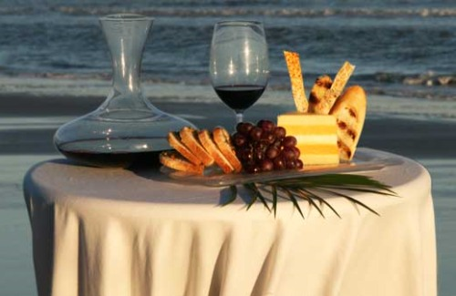 gourmet and grapes, the sanctuary on kiawah, gourmet and grapes kiawah