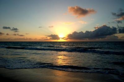 Hawaiian Sunset on Oahu