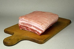 pork belly, bacon