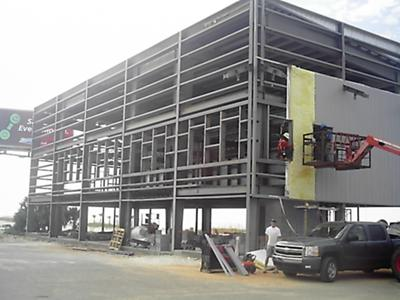 The new Snappers Seafood / Wet & Wild under construction