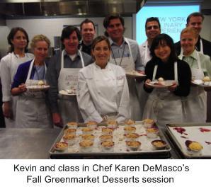 Chef DeMasco, Karen DeMasco, Fall Greenmarket Desserts