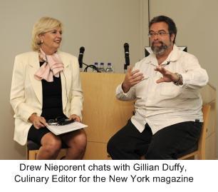 Gillian Duffy , Drew Nieporent, Culinary Experience